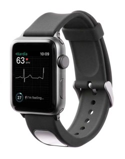 KardiaBand Heart EKG Reader Is First Apple Watch Medical Accessory With FDA Approval