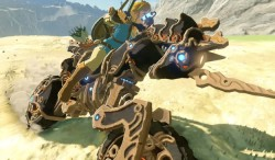 Nintendo's Latest Zelda: Breath Of The Wild DLC Gives Link A Rockin' Motorcycle