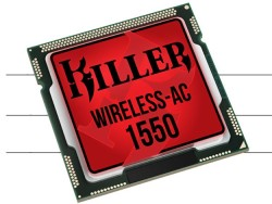 Rivet Networks Unveils Killer 1550 Wireless-AC Module With Intel That Delivers WiFi Connectivity Up To 1.73Gbps