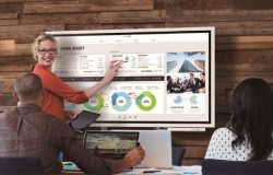 Samsung's 55-inch Flip Collaborative Display Is A Direct Response To Surface Hub And Google Jamboard