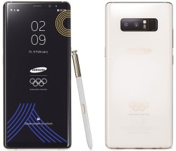Samsung Gifts Limited Edition Galaxy Note 8 To All PyeongChange 2018 Winter Olympians And Paralympians