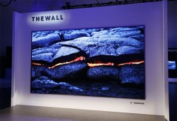 Samsung Launches Ginormous 'The Wall' 146-inch MicroLED Modular TV At CES 2018