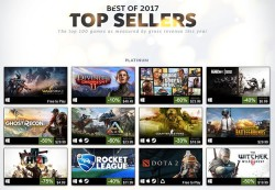 Steam's List Of 100 Best Selling Games In 2017 Is A Goldmine Of Gaming Goodness
