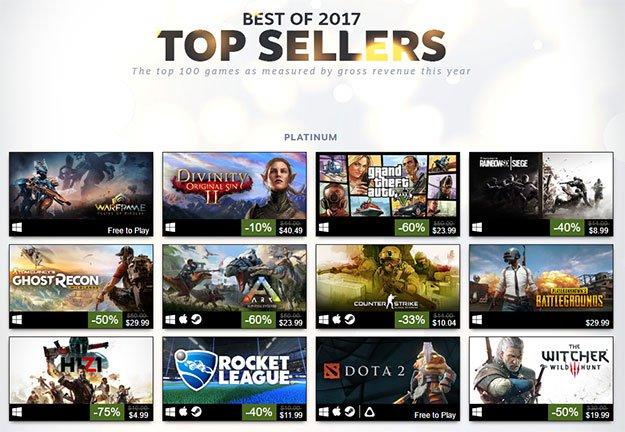 Steam Best Sellers