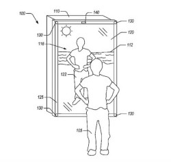 Amazon Blended-Reality Mirror Patent Highlights Next Gen Clothes Shopping