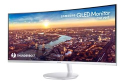 Samsung CJ791 QLED Thunderbolt 3 Curved Monitor Heads To CES 2018