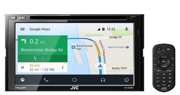 jvc android auto