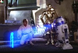Laser And Particle Volumetric Projection System Produces Star Wars-Like Floating 3D Images
