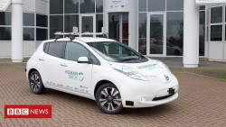 UK plans 200-mile 'country roads' driverless trial