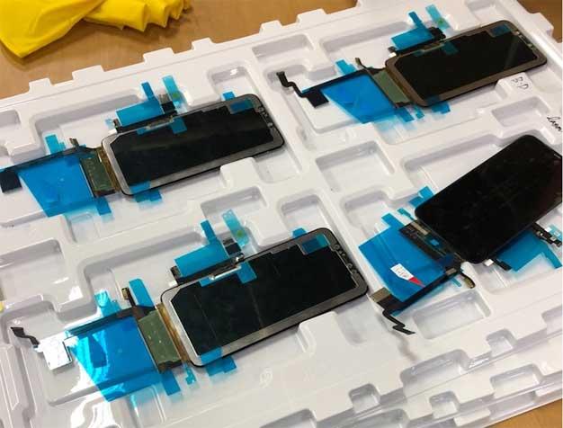 iphone x plus screen tray