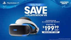 Sony Slashes PlayStation VR Headset Prices For A Limited Time Starting This Weekend
