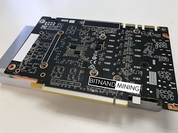 BITNAND GTX1060 Mining Back