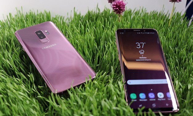 Galaxy S9 Plus Lilac Purple 2
