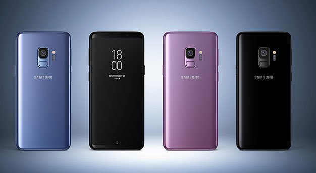 Galaxy S9 3colors