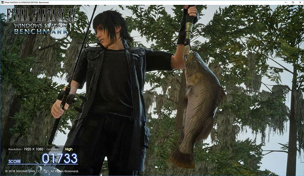 Final Fantasy XV Benchmark Screenshot