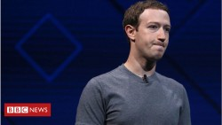 Data row: Facebook's Zuckerberg will not appear before MPs