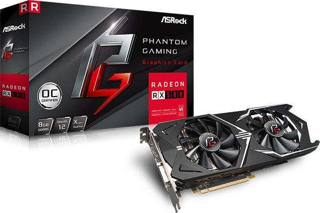 ASRock Phantom Gaming Radeon RX 580