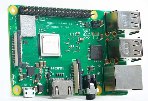 New Raspberry Pi 3 Model B+ Packs 1.4GHz Processor, 802.11ac, And GbE