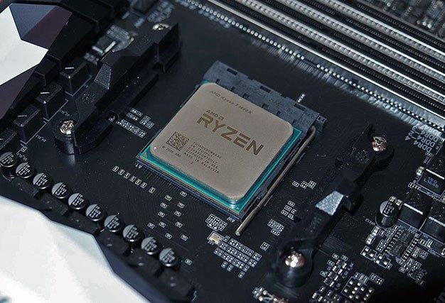 ryzen processor in socket