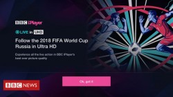 World Cup 2018: BBC iPlayer to stream matches in 4K HDR
