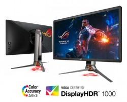 ASUS Launches ROG Swift PG27UQ 4K 144Hz NVIDIA G-SYNC HDR Gaming Monitor