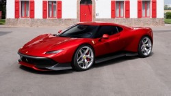 The Ferrari SP38 Is A One-Off Gorgeous Road Rocket Based On The Outrageous 488 GTB