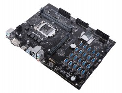 ASUS H370 Mining Master Cryptocurrency Motherboard Boasts 20 Quick-Connect GPU Ports