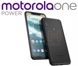 Motorola One Power Leaks With Notchy Design Powered By Android One