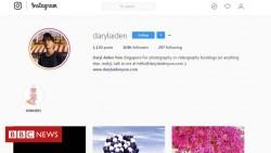 Instagram star Daryl Aiden Yow used stock image photos