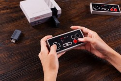 8BitDo's Game Controller Gives Nintendo's NES Classic The Wireless Freedom It Deserves