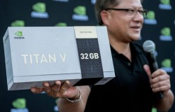 NVIDIA CEO Gifts Limited Edition Volta Titan Vs With 32GB HBM2 To AI Researchers