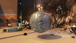 A Portly Hamster Named Wrecking Ball Is Overwatch's Newest Champion