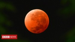 Lunar eclipse: Skygazers await century's longest 'blood moon'