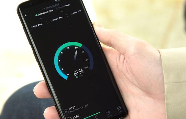Samsung Galaxy S9+ Speed Test