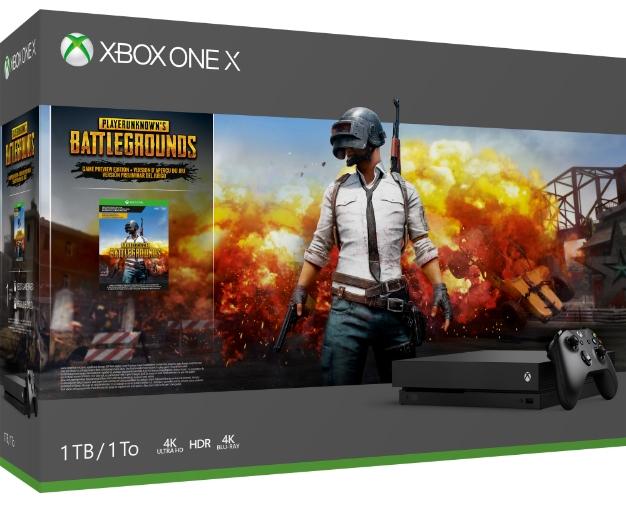 XboxOneX 1TBConsole PUBG GP US CAN FANL RGB 2000 1