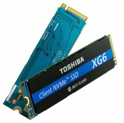 Toshiba XG6 NVMe SSDs Offer World-First 96-layer BiCS 3D NAND And 3.1GB/sec Reads