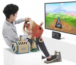 Nintendo Labo Vehicle Kit Launches In September With Steering Wheel And Pedal