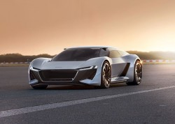 Audi's PB 18 e-tron EV Super-Futuristic Hypercar Concept Drives 600hp To All Four Wheels