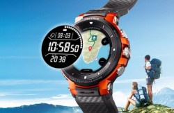 Casio's Pro Trek WSD-F30 Wear OS Smartwatch Targets Outdoor Crowd With Offline Maps