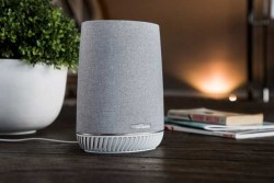 Netgear Orbi Voice Mesh Satellite Wi-Fi Hotspot Doubles As Amazon Alexa Smart Speaker