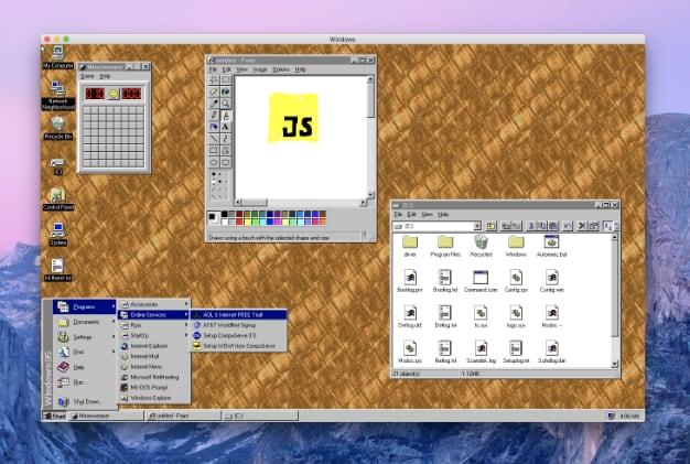 windows95 app 4