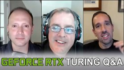 HotHardware's 2.5 Geeks Webcast 8/29/18: GeForce RTX And Turing Q&A With NVIDIA's Tom Petersen