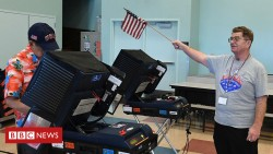 US mid-terms: Hackers expose 'staggering' voter machine flaws