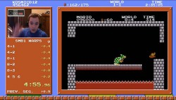 Super Mario Bros. Speedrunner Rips World Record Near-Flawless Time