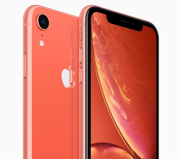 iPhone XR coral back 09122018