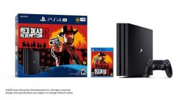 Red Dead Redemption II PlayStation 4 Pro Bundle Announced