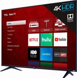 55-Inch TCL 4K HDR TV With Roku A Heck Of A Deal At Best Buy For $399