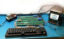 Ultra-Rare, Fully Functional Apple-1 Computer Sells For $375,000