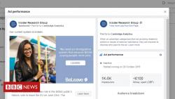 Fake Cambridge Analytica ad hits Facebook
