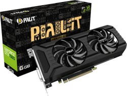Palit GeForce GTX 1060 GamingPro OC Joins 6GB GDDR5X Bandwagon
